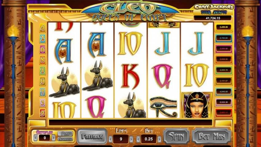 Cleo Queen Of Egypt Slot Review & Guide Online