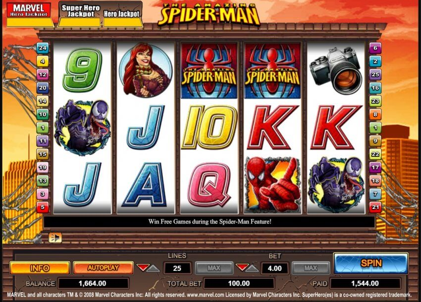 Spiderman Slot Review & Guide for Beginners Online